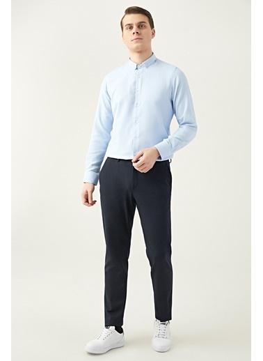 TWN Slim Fit Jogger Kumaş Pantolon Lacivert